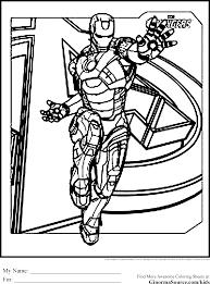 Modele Coloriage Dessiner Avengers