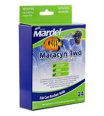 Mardel Fish Disease Chart Fritz Aquatics 24 Count Mardel Maracyn 2 Treats