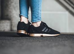 adidas zx flux black and rose gold. adidas zx flux black copper and rose gold