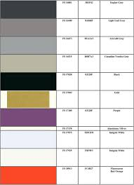 Fed Std 595b Color Chart The Colors In The Federal Standard Set Have No Official