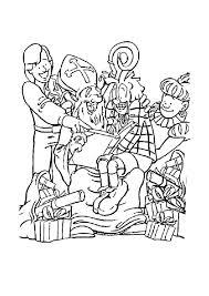 Coloriage Saint Nicolas Sur Hugolescargot Com