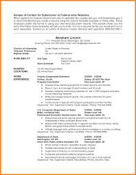 8 Usa Jobs Resume Sample Hr Cover Letter