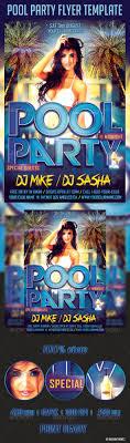 pool party flyer template by majkolthemez graphicriver pool party flyer template clubs parties events