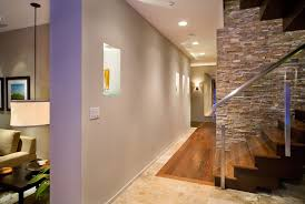 hallway track lighting. hallway niche hall modern with mixed floor transitional pendant lights track lighting