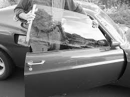 this what we mean by loose glass in the doors of a 69 mustang the best way to solve the problem is to do exactly what ford did for 1970 replace the
