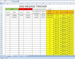 Gas Mileage Spreadsheet Fuel Mileage Tracker Barca Fontanacountryinn Com