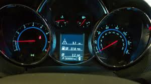 2014 Chevy Cruze Warning Lights The Updated Driver Information Center On The 2012 Chevy