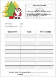 Sample Bid Sheets For Silent Auction 31 Best Silent Auction Bid Sheet Templates Images Fundraising