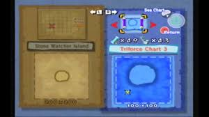 Wind Waker Triforce Chart 2 4 Temples Triforce