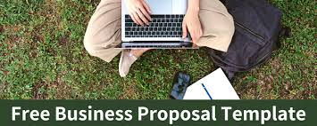 Business Proposals Templates Business Proposal Template Free Download Bplans
