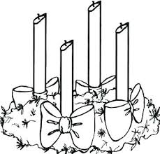 Coloring Pages Advent Wreath Coloring Page Stock An Advent Wreath