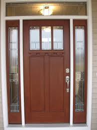 single front doorsAccessories Sweet Dark Oak Single Front Door With Chrome Handle