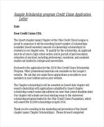 Sample Scholarship Request Letters Application Letter Sample Scholarship Request Letter Copy Examples