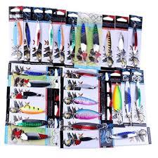 Laimeng, <b>Fishing Lures</b> Metal Spinner <b>Baits</b> Crankbait Assorted <b>Fish</b> ...