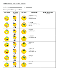 Frog Themed Behavior Chart 24 Bright Behaviour Star Chart Template