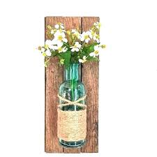 glass wall vases for flowers hanging bud vases creative vase sconce creative vase sconce rustic wall