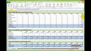 excel modeling advanced excel modeling professional data analysis in excel youtube