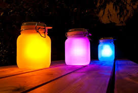 solar lighting ideas for mason jars