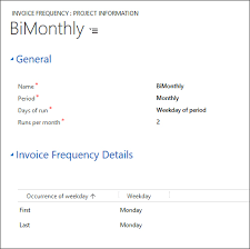 Psa Example Microsoft Dynamics Psa Invoice Frequency Ebecs Dynamics
