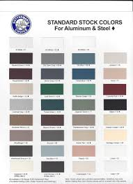 Gutter Color Chart Valley Roof Removalvalley Roof Removal