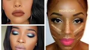 best ideas for makeup tutorials best makeup looks for black women dark skin contouring and highlighting tutori