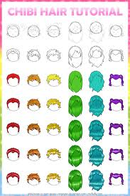 anime chibi drawing tutorial. Brilliant Drawing Tutorial ChibiAnime Hair By RingoYan To Anime Chibi Drawing Tutorial