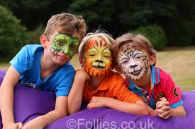 face painting for boys childrens party by follies face painting for boys childrens party by follies