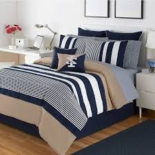 striped bedding duvet ticking check beyond bath vertical fl fitted comforter covers queen cover black white linen navy blue sheets damask target stripe