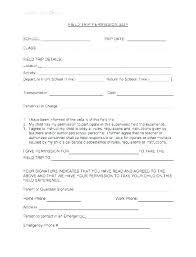 Luxury Field Trip Permission Form Template Fresh Letter Parent Slip