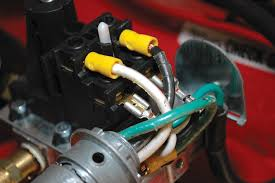techtips installing compressed air in your workshop the white and black wires in this 240 volt circuit are both hot the white one should be wrapped in black tape to code it as a hot wire