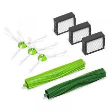 <b>Sweeper Accessories</b> Side Brush Filter <b>Main</b> Brush <b>Set</b> for Irobot ...