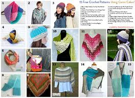 Caron Cakes Crochet Patterns