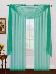 Light Green Sheer Curtain Drapery
