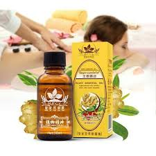 <b>30ML Natural Ginger</b> Oil Essence Lymphatic Drainage Therapy ...