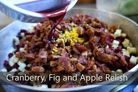 Cranberry Fig And Apple Relish Diary of a Knifethrower