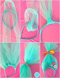 how to make a diy trolls headband