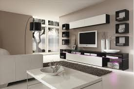 modern entertainment wall units white contemporary center 6
