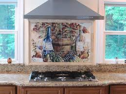 kitchen backsplash ideas tuscan tile backsplash murals
