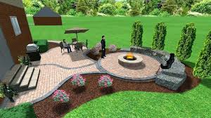 diy stone patio with fire pit how to build fire pit on concrete patio patio cost