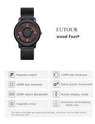 2019 <b>EUTOUR Magnetic</b> Drive Mens Watches Top <b>Brand</b> Luxury ...