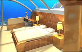 underwater hotel room at night. Suite Underwater Hotel Room At Night
