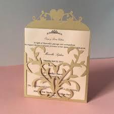 50pcs Pocket Heart Design Postcards Gatefold Engagement Party Wedding Invitation Cards Celebrating Blank Rsvp Card Place Card