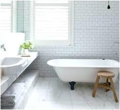 subway tile bathroom floor a charming light grey grout with tiles downstairs marble shower fabulous carrera