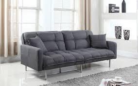 claire modern tufted linen futon  sofamaniacom