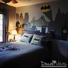 Decalideas Batman Gotham City Skyline City Buildings Sticker is High  Quality non Toxic Eco Friendly Vinyl Wall Decal. - My favorite Batman deco  room I've ...