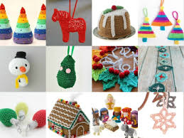 Crochet Christmas Ornaments Patterns Simple 48 Crochet Ornaments To Make This Christmas My Poppet Makes