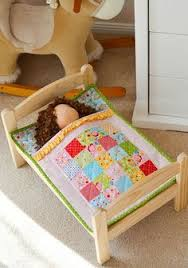Learn how to make a cute and simple Doll Bed Quilt with Rob Appell ... & Ruffle Doll Quilt in 'Bloom & Bliss' (Down Grapevine Lane) Adamdwight.com