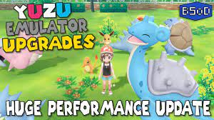 3X Performance Boost in Pokemon Let's Go - Yuzu Game Compatibility Update -  YouTube