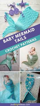 Baby Mermaid Crochet Pattern Custom Decorating