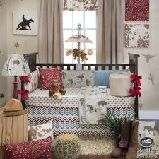 cool cowboy crib bedding west crib new